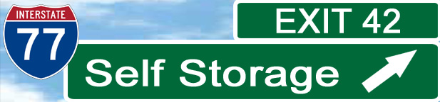 Exit 42 Self Storage, Troutman, North Carolina  - Located off I-77, 300+ clean self storage units with 24 hour access & security cameras, close to Mooresville, Statesville, Davidson, Cornelius, Huntersville, Charlotte, Lincolnton